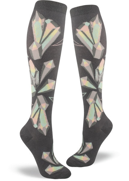 Crystals Knee High Sock