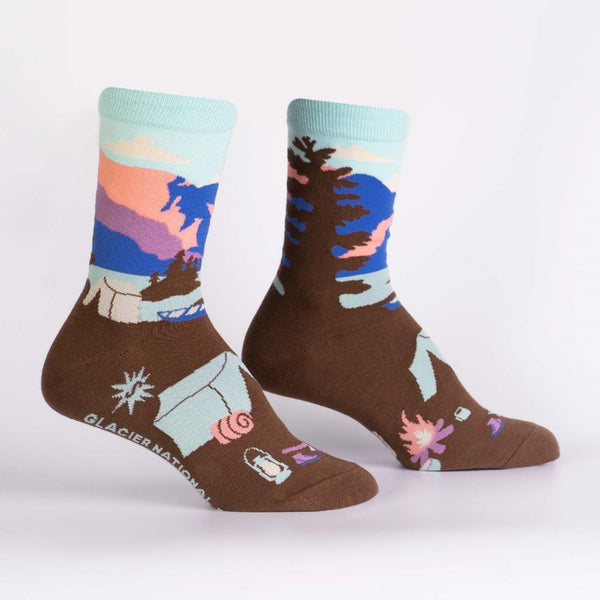 Glacier National Park Sock