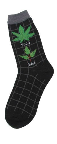 Good Weed Bad Weed Sock
