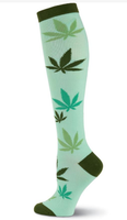 Going Green Knee High Socks
