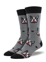 Men's French Kiss Dog Sock