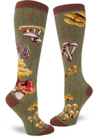 Mushroom Knee High Socks