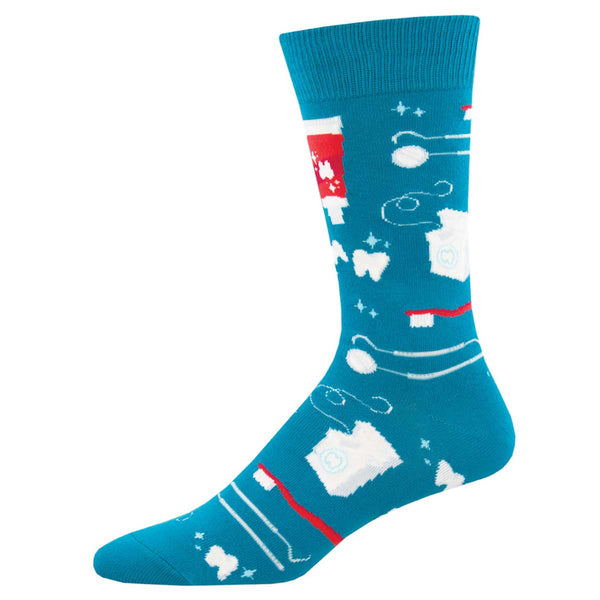 Men's Pearly Whites Sock