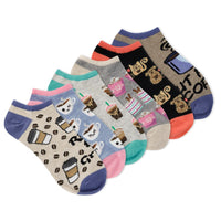Rise and Grind 6 pack Shortie Socks