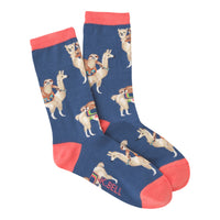 Sloths Riding Llamas Socks