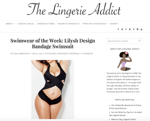 LILYSH design in The Lingerie Addict