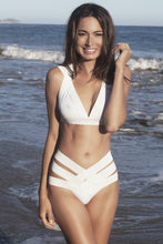 K Style. Bandage  swimsuit suit, two piece - LILYSH