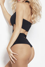 X style. Bandage criss cross swimsuit suit, one piece - LILYSH