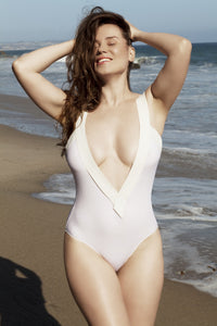 V Style. Bandage swimsuit suit, one piece - LILYSH