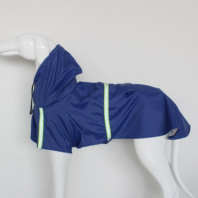 Reflective Small Large Dogs Rain Coat