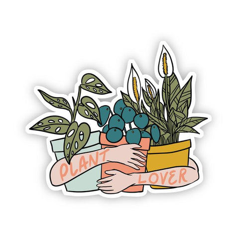 NEW! Plant Lover Sticker - free shipping