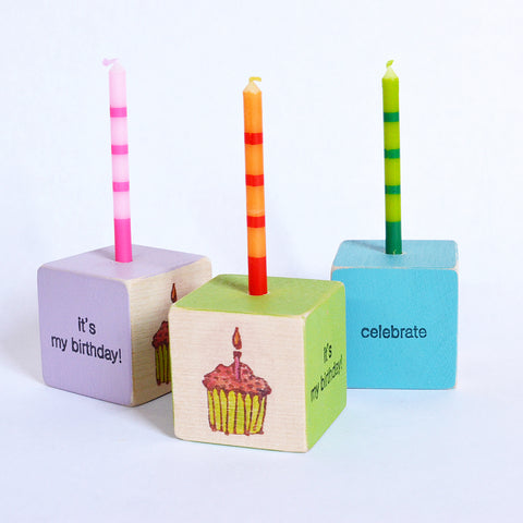 Birthday Block - Cupcake