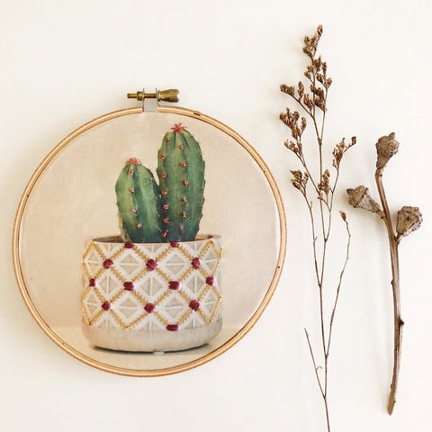 Photo Embroidery DIY Kit