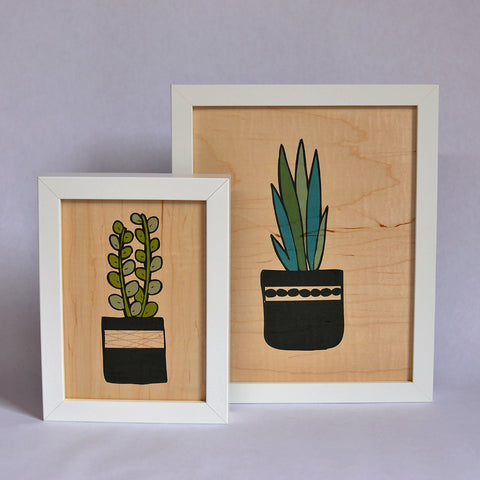 Real Wood Art Prints + Cards
