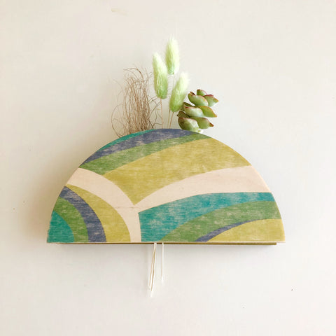 Dome Wall Vase Planter