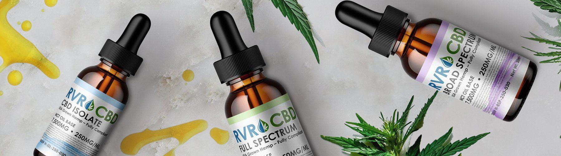 RVR™ Broad, Full, & Isolate CBD