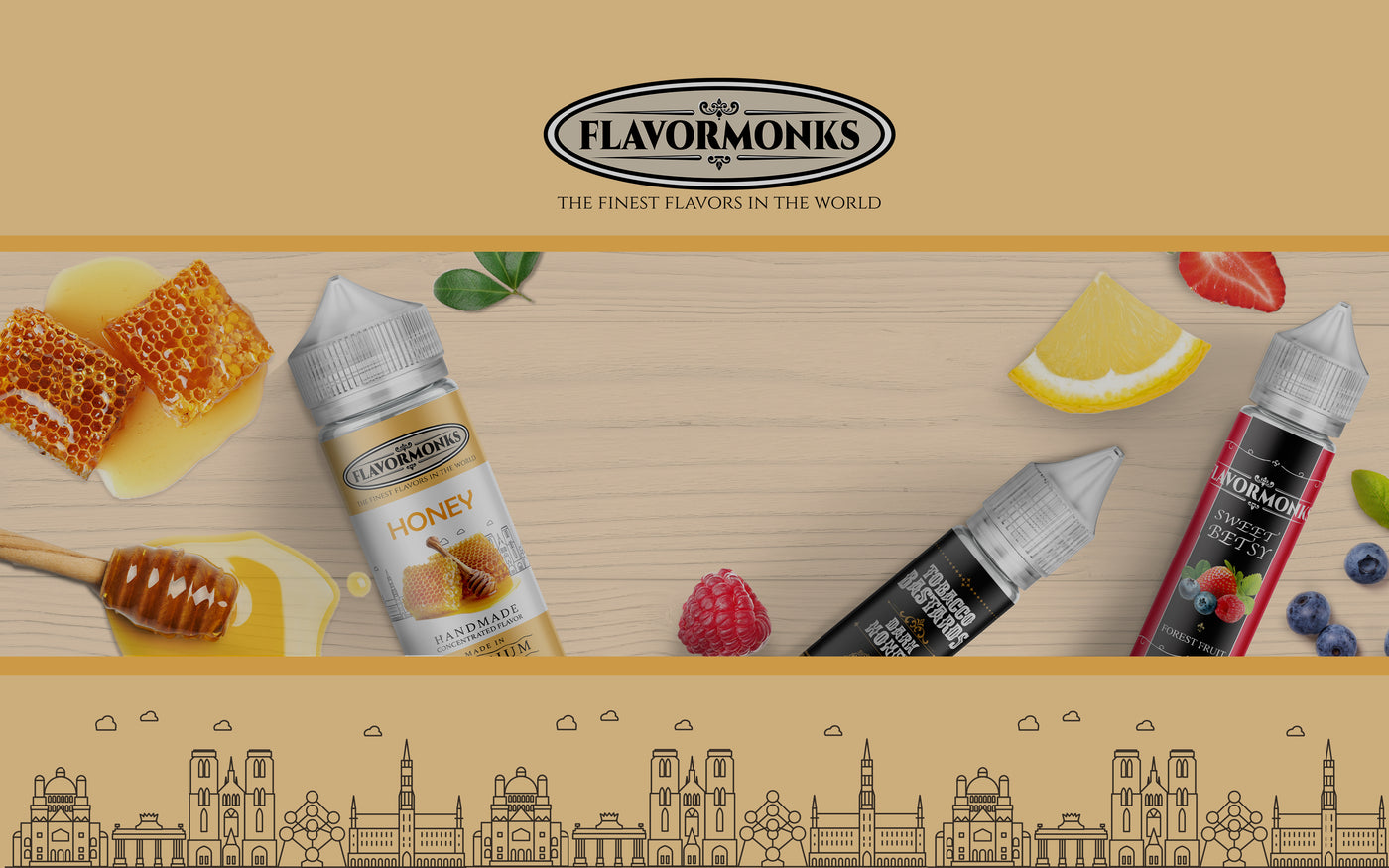 Nicotine River - Liquid Nicotine - Vegetable Glycerin - Flavors