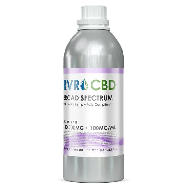 100mg/ml RVR™  Broad Spectrum CBD