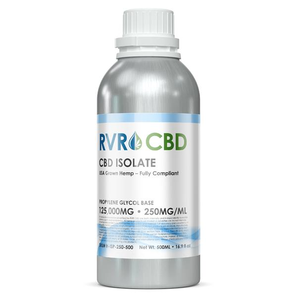 250mg/ml RVR™ Isolate CBD