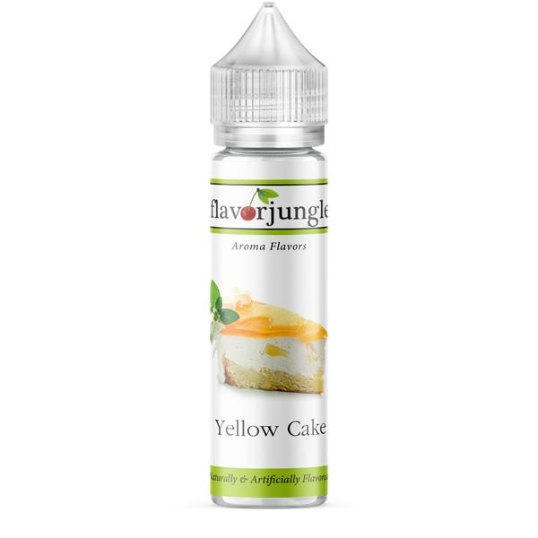 Flavor Jungle Yellow Cake
