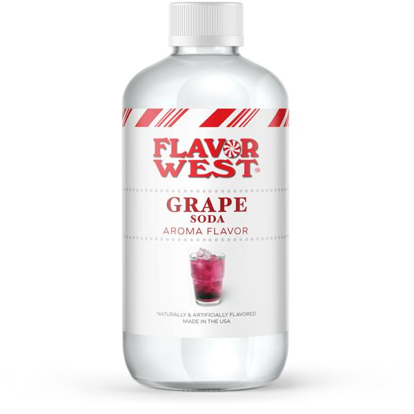 Flavor West Grape Soda