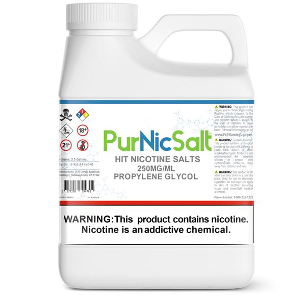 DIY PurNic™ Hit Nicotine Salts 250mg*