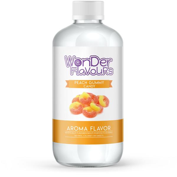 Wonder Super Concentrates Peach Gummy Candy