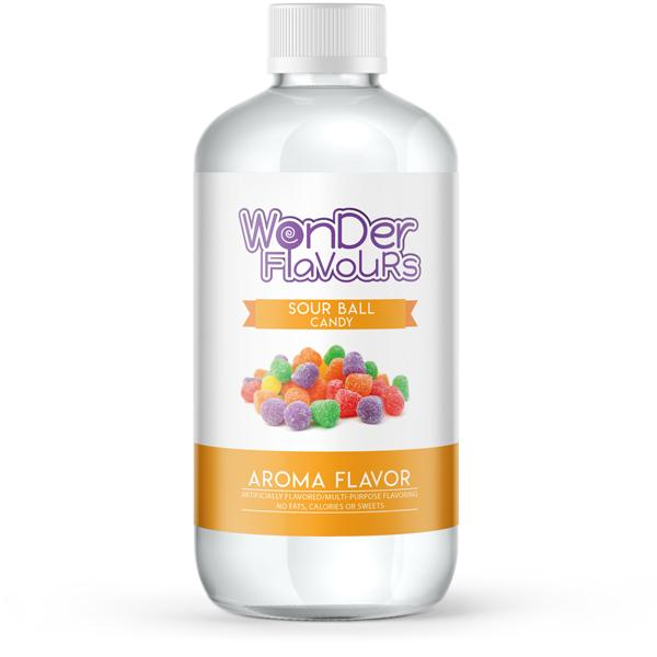 Wonder Super Concentrates Sour Ball Candy