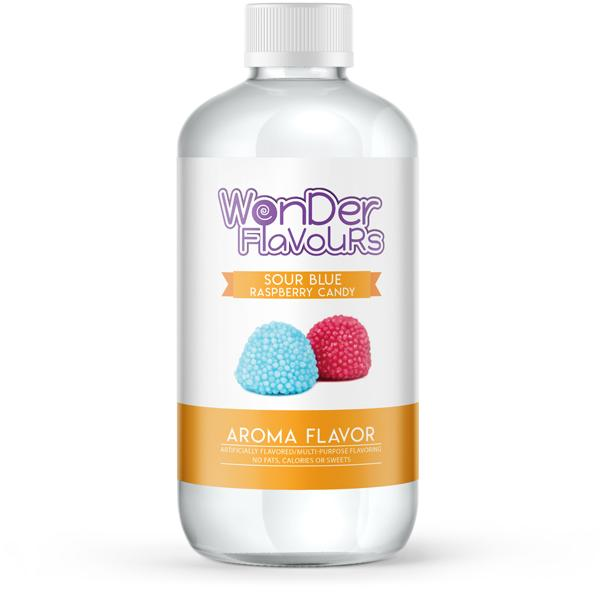 Wonder Concentrates Sour Blue Raspberry Candy