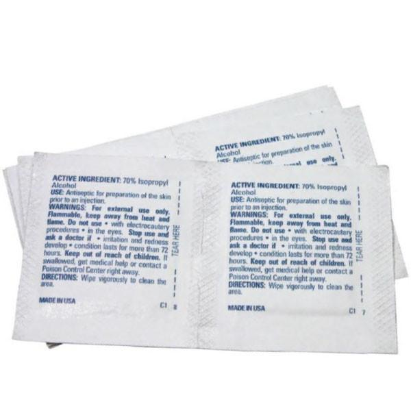 Alcohol Prep Pads - 100 Count