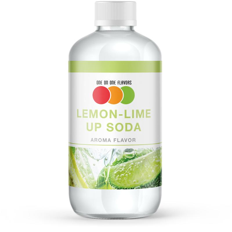 One on One Lemon Lime Up Soda