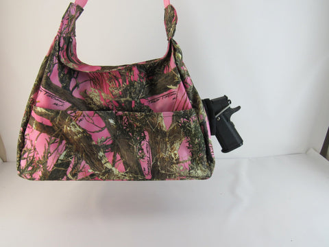 Conceal  Carry Purse Camo Large