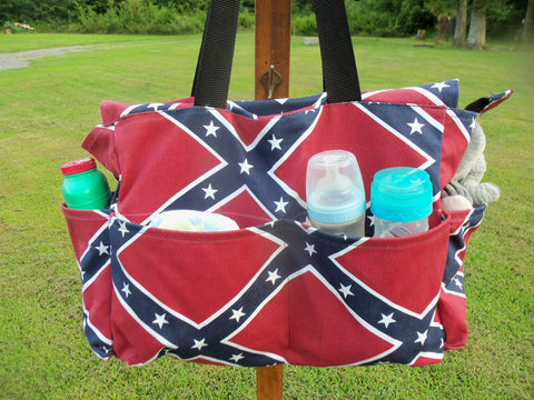 Diaper Bag - Stars and Bars
