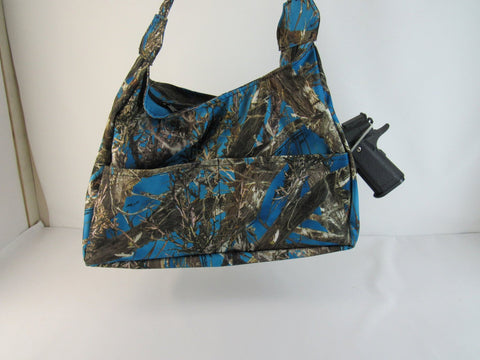 Conceal  Carry Purse Camo Small