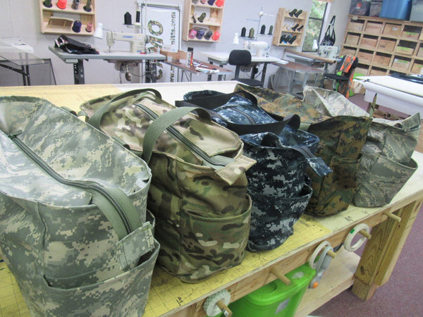 Military Style Camo Diaper Bag