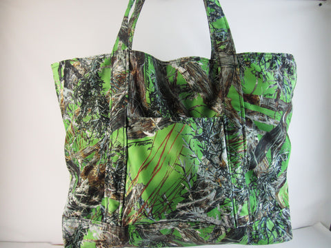Camo Overnight ,Travel Bag Large