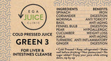 Load image into Gallery viewer, Cold Pressed Juice Green 3 for liver & intestines cleanse