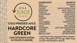 Load image into Gallery viewer, Cold Pressed Juice Hardcore Green for detoxification & colon cleanse