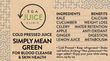 Load image into Gallery viewer, Cold Pressed Juice Simply Mean Green for blood cleanse & skin helath