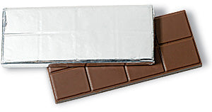 aluminum candy bar wrapper