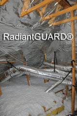 foil insulation in attic