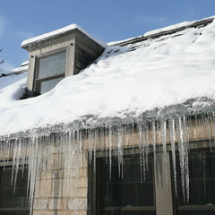 Radiant Barrier Installed In Attic Reduces Ice Damming