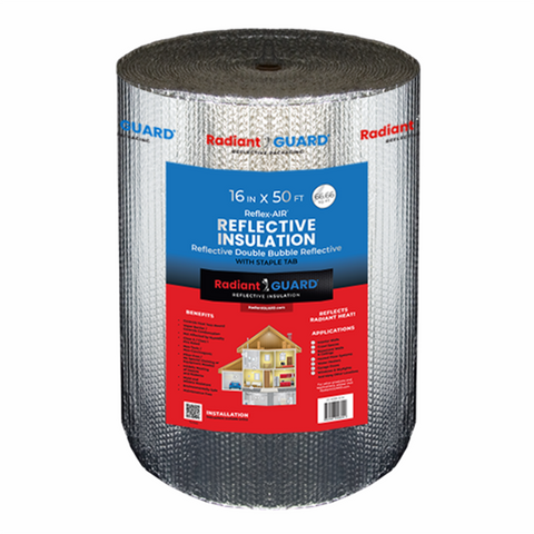 Reflex-AIR® 16-inch (67 sf) DOUBLE Bubble Reflective Insulation