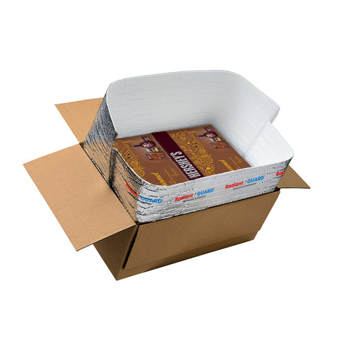 "Insulated Box Liners - 6""x 6""x 6""- Pack of 25"