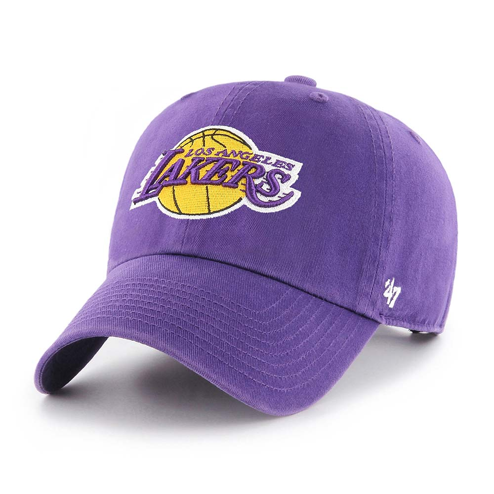 Los Angeles Lakers Purple '47 CLEAN UP - Front