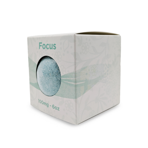 CBD eaze Full Spectrum 100mg CBD Bath Bomb ?€? Focus