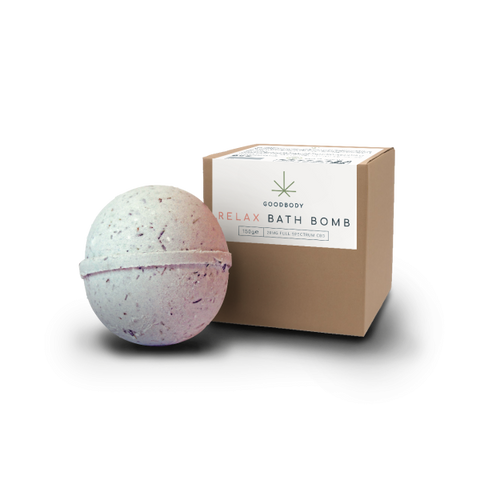 George Botanicals CBD Oil Bath Bomb RELAX 20mg