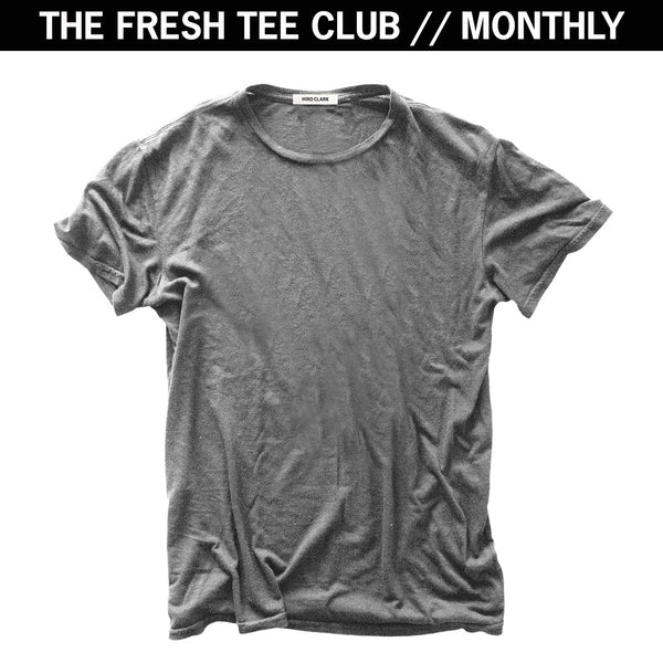 1 FRESH TEE EVERY MONTH // GREY