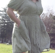 Load image into Gallery viewer, Pale Green Cottage Dress