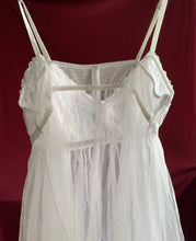 Load image into Gallery viewer, Sheer Bridal Babydoll